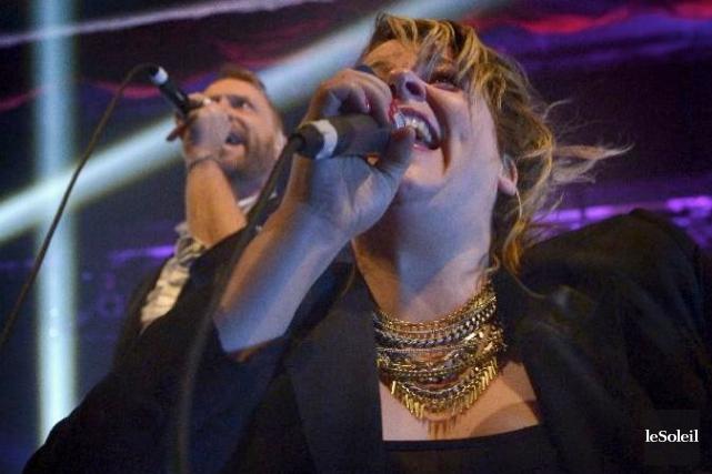 Les voix de Campbell et d'Amy Milan sont... (Le Soleil, Yan Doublet)