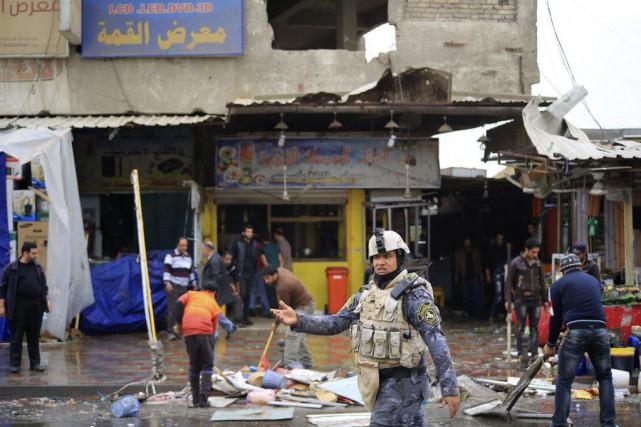 Les attaques n'ont pas été revendiquées dans l'immédiat.... (Photo Ahmad Mousa, Reuters)