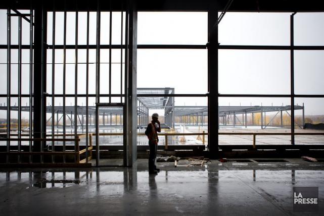 Le nouvel entrepôt de Varennes devrait accueillir les... (Marco Campanozzi, Archives La Presse)