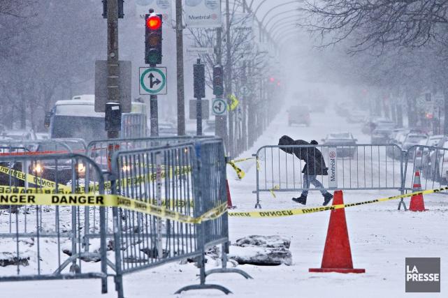 Un bris était aussi survenu la semaine dernière... (Photo Patrick Sanfacon, archives La Presse)