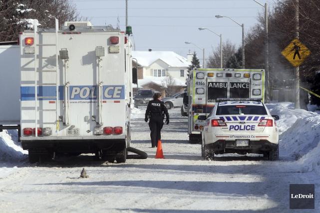 L'Unité des crimes majeurs de la police d'Ottawa... (Étienne Ranger, LeDroit)