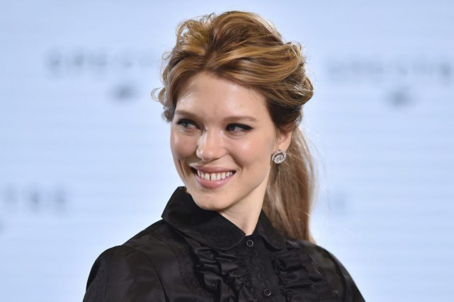L'actrice Léa Seydoux... (PHOTO BEN STANSALL, ARCHIVES AFP)