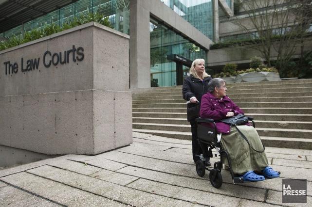 La cause entendue émane de la Colombie-Britannique, où... (Archives, Reuters)
