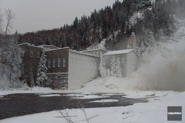 La minicentrale de Val-Jalbert, construite au cours des... (Archives, Le Quotidien)