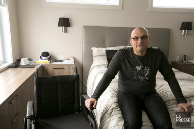 Alain Bérard doit vivre des deuils constants au... (PHOTO FRANÇOIS ROY, LA PRESSE)