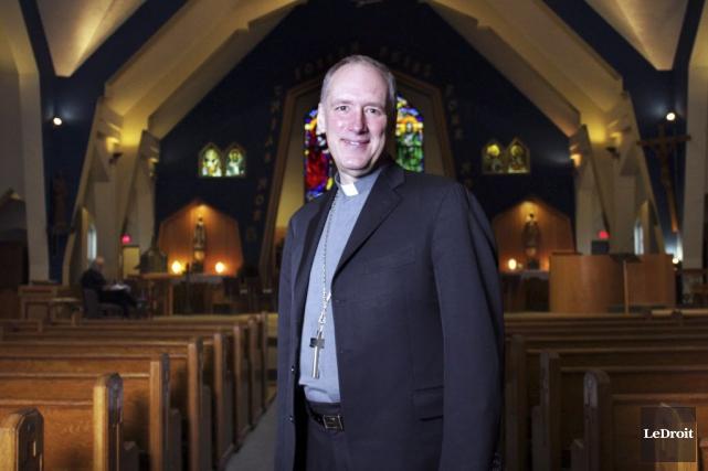 Mgr Paul-André Durocher a mentionné que son organisation... (Etienne Ranger, Archives LeDroit)