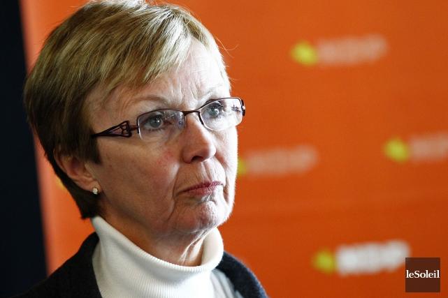 La députée Turmel fait partie des 68 députés... (Photo d'archives, Le Soleil)