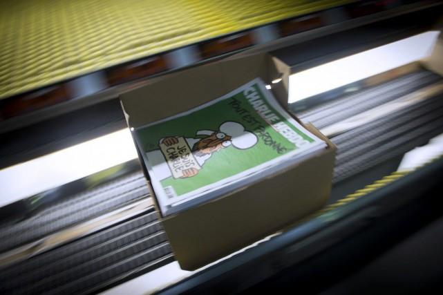 Selon M. André, Charlie Hebdo a aujourd'hui plus... (PHOTO MARTIN BUREAU, AFP)