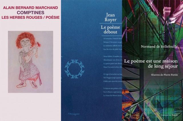 De langue maternelle et de l'acte d'écrire: Alain Bernard Marchand, Jean Royer...