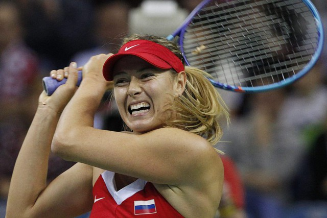 Maria Sharapova... (PHOTO CZAREK SOKOLOWSKI, ARCHIVES AP)