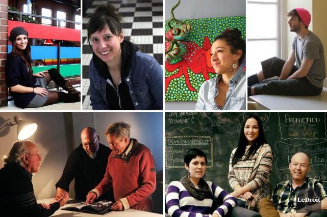 Ils s'appellent Dinorah Catzalco, Céleste Lévis, Simon Renaud, Caroline... (Photomontage LeDroit)