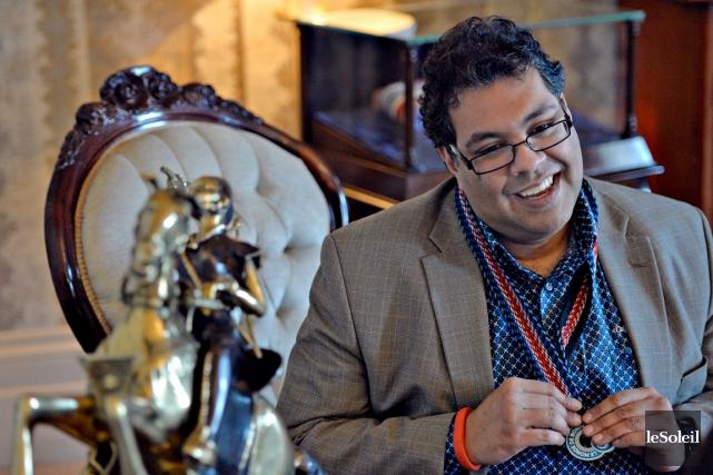 Le maire de Calgary, Naheed Nenshi, 42 ans,... (Photo Le Soleil, Pascal Ratthé)
