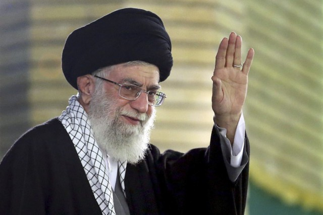 L'ayatollah Ali Khamenei... (Photo AFP)