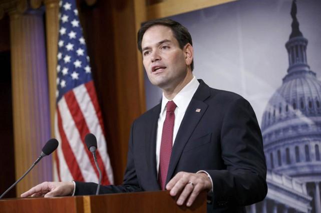 Le sénateur républicain Marco Rubio n'est toujours pas... (PHOTO J. SCOTT APPLEWHITE, ARCHIVES AP)