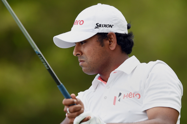 Anirban a totalisé six oiselets, incluant quatre à... (PHOTO AFP)
