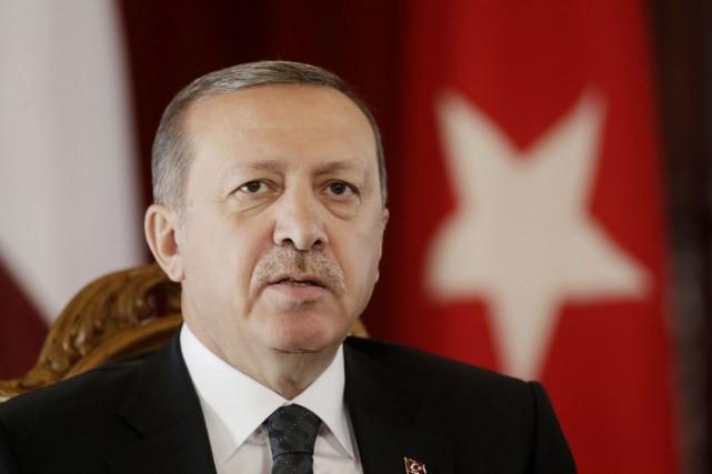 Le président de la Turquie, Recep Tayyip Erdogan.... (PHOTO INTS KALNINS, ARCHIVES REUTERS)
