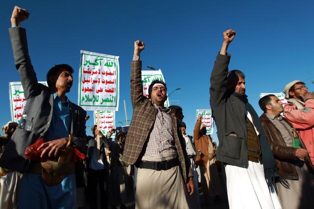 Le Yémen est plongé dans l'instabilité.... (PHOTO MOHAMMED HUWAIS, archives AFP)
