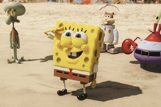 The Spongebob Movie: Sponge Out of Water... (PHOTO FOURNIE PAR PARAMOUNT PICTURES)
