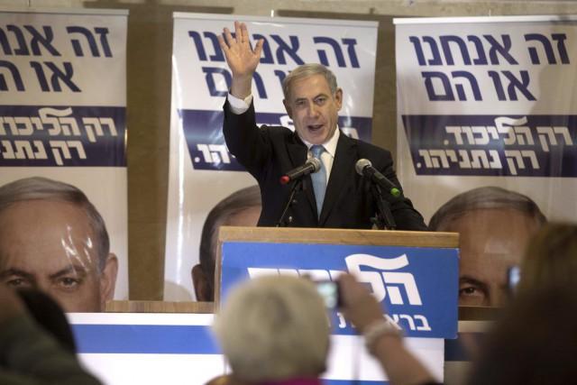 Le premier ministre israélien a affirmé que son... (PHOTO MENAHEM KAHANA, AFP)