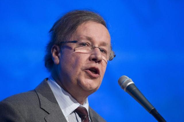 En clôturant l'événement, qui a réuni 450 délégués,... (Photo La presse canadienne, Graham Hughes)