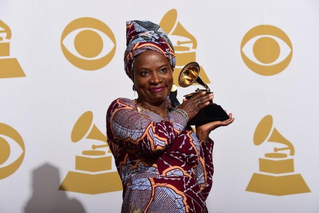 Angelique Kidjoest connue pour son militantisme, notamment sa... (Photo: AFP)