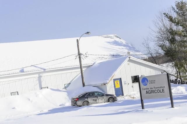 Le Collège d'Alma se départira de sa ferme... ((Photo Gimmy Desbiens))
