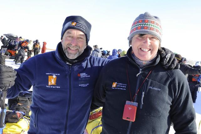 Mario Cantin et Mario Bilodeau ont encore réussi... ((Photo Gimmy Desbiens))