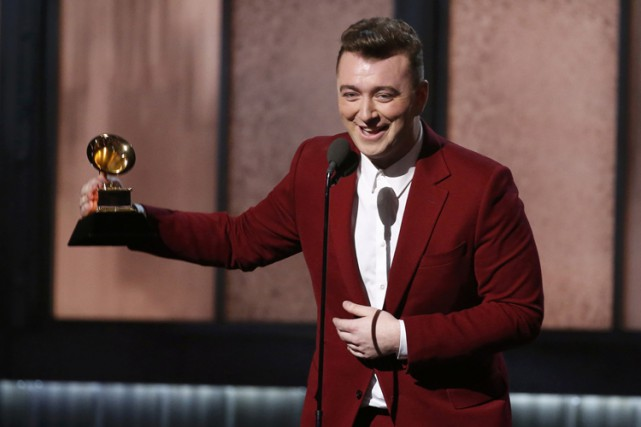 Sam Smith a remercié l'homme qui lui a... (Photo: Reuters)
