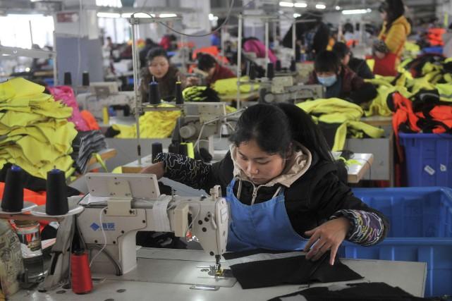 Entre autres signaux inquiétants pour l'économie chinoise, le... (Photo archives Reuters)