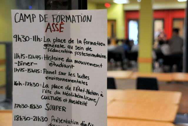 Une centaine d'étudiants d'un peu partout au Québec ont participé au camp de... (Photo collaboration spéciale Éric Beaupré)