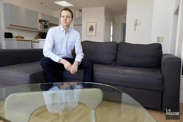 Guillaume Dumas, président de l'agence Datective.ca, dont la... (Photo François Roy, La Presse)