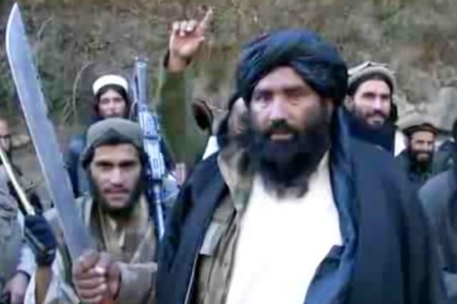 Le mollah Abdul RaufKhadim avait annoncé son allégeance... (IMAGE ARCHIVES BBC)