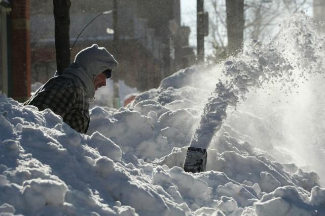 La Ville de Saint-Jean, au Nouveau-Brunswick, a levé lundi l'état d'urgence qui... (PHOTO LA PRESSE CANADIENNE)