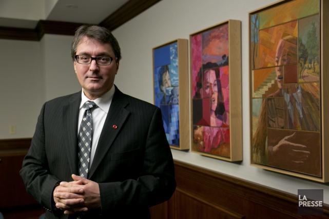 Daniel Laverdière est directeur principal, planification financière et... (PHOTO DAVID BOILY, LA PRESSE)