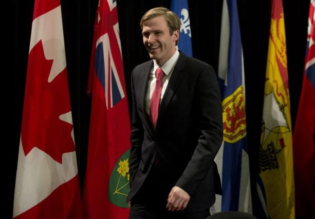 Brian Gallant... (PHOTO ADRIAN WYLD, LA PRESSE CANADIENNE)