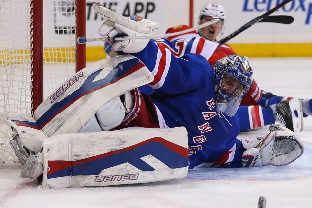 Henrik Lundqvist... (Photo Adam Hunger, archives USA Today)