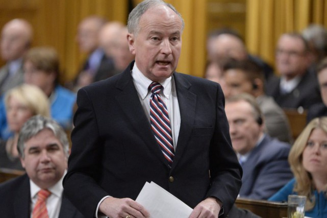 Rob Nicholson... (PHOTO ADRIAN WYLD, LA PRESSE CANADIENNE)