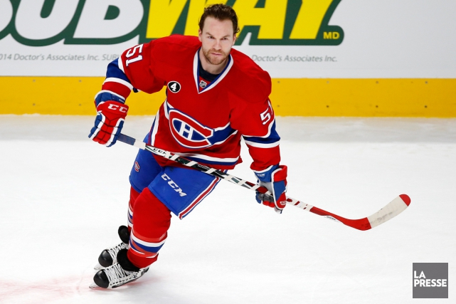 David Desharnais... (Photo Robert Skinner, La Presse)