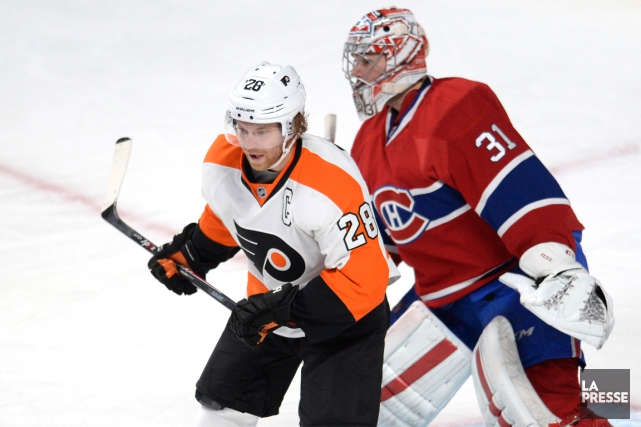 Claude Giroux et Carey Price... (Photo Bernard Brault, archives La Presse)