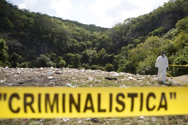 Le ministère mexicain affirme que toutes les preuves... (PHOTO REBECCA BLACKWELL, ARCHIVES AP)