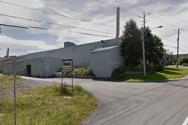 L'usine René Matériaux Composites, à Saint-Ephrem... (Google Street View)