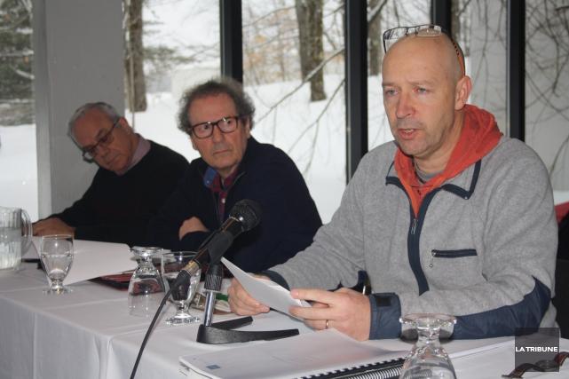 Le président de la Coopérative de solidarité du... (La Tribune, Jean-François Gagnon)