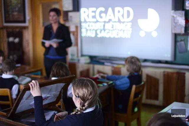 Le volet jeunesse du Festival REGARD sur le... ((Archives Le Quotidien))