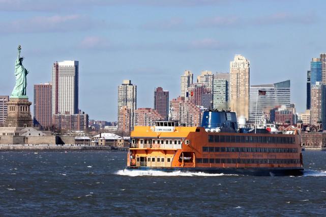 Le maire Labeaume visitera New York du 15... (AP, Richard Drew)