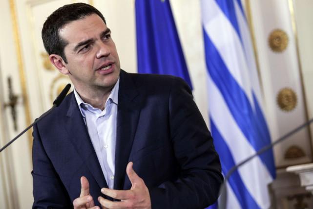 Le premier ministre grec Alexis Tsipras.... (Photo: AFP)