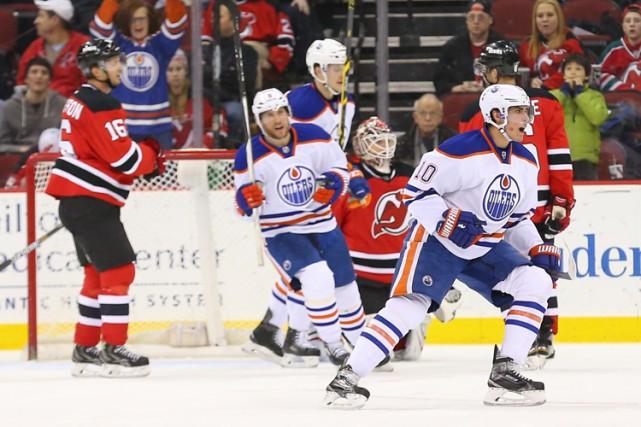 Nail Yakupov a marqué en avantage numérique et les Oilers d'Edmonton ont... (Photo: Reuters)