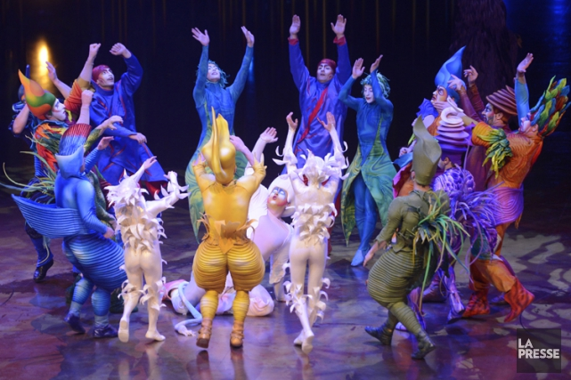 Le Cirque du Soleil examine autant la vente... (PHOTO BERNARD BRAULT, LA PRESSE)