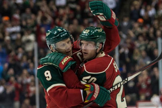 Le capitaine Mikko Koivu a récolté trois passes et le Wild du Minnesota a... (Photo: Reuters)