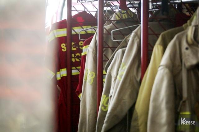 Deux pompières qui se sont récemment confiées à... (IMAGE TIRÉE D'UNE VIDÉO, LA PRESSE)