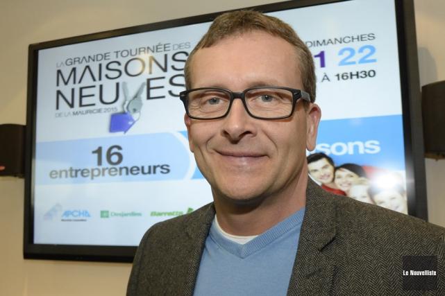 Maxime Rodrigue est le directeur général de la... (Photo: Sylvain Mayer, Le Nouvelliste)